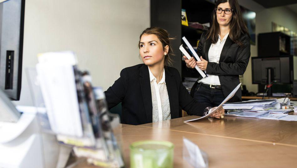 Frauen im Büro (Symbolfoto)