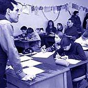 Lehrer bei der Arbeit: Früh in Rente
