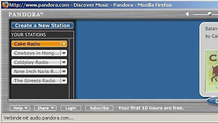 Internet-Radio Pandora: Der virtuelle DJ