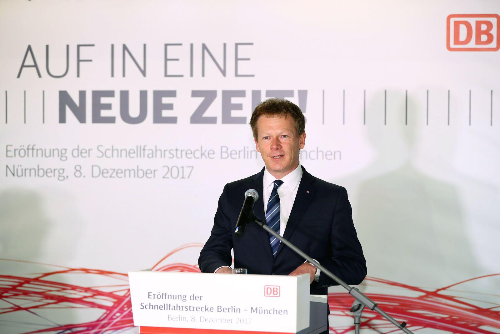 Eröffnung der Bahn-Schnellfahrstrecke München-Berlin