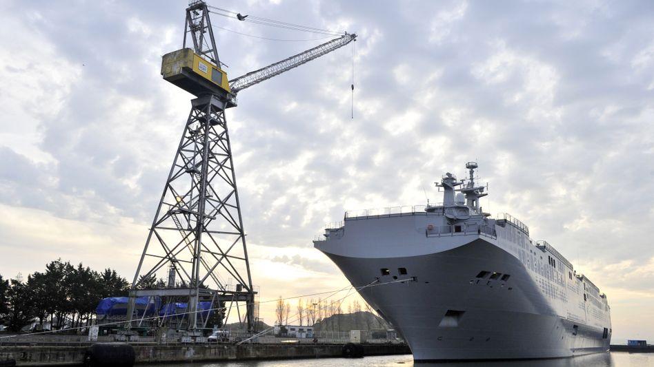 """Russisches Kriegsschiff der """"Mistral""""-Klasse """"Wladiwostok"""": Streit beendet?"""