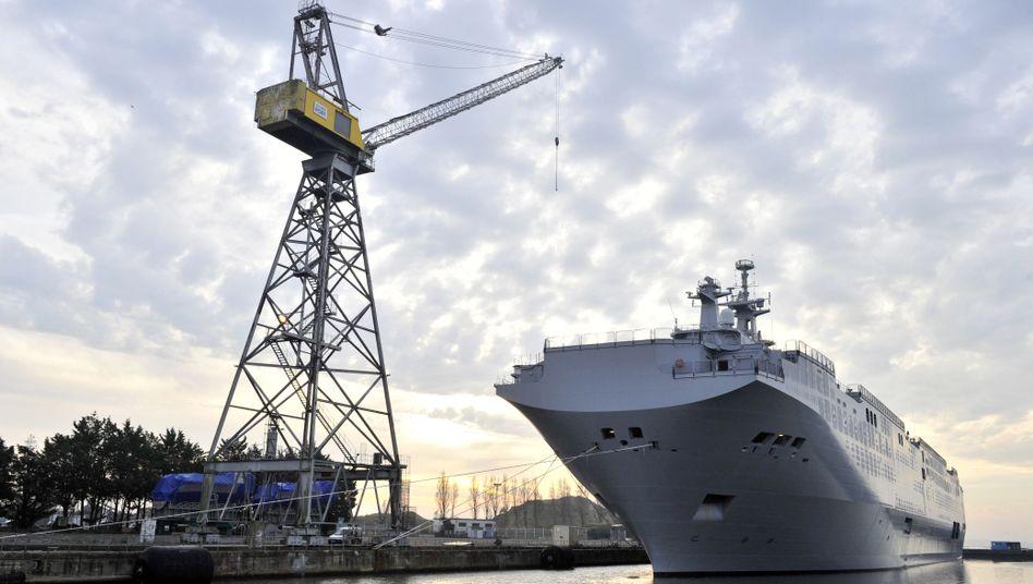 """Kriegsschiff """"Wladiwostok"""" der """"Mistral""""-Klasse: Monatelange Verhandlungen"""