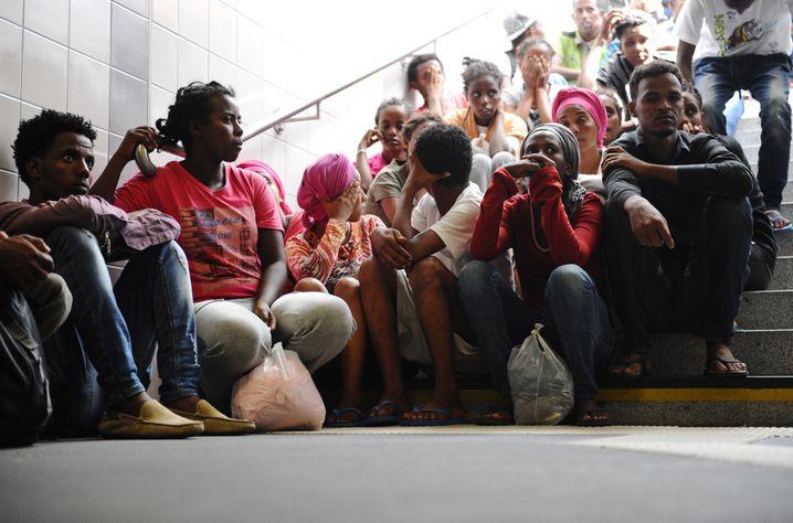 """Flüchtlinge aus Afrika in Bayern: """"Sie sehen keine Perspektive"""""""