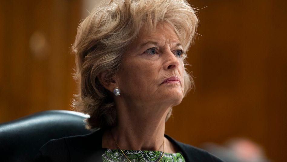 Die republikanische Senatorin für Alaska, Lisa Murkowski