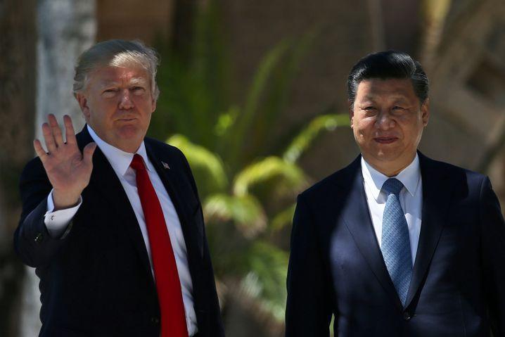 Freund oder Feind? Trump mit Chinas Präsident Xi (2017)