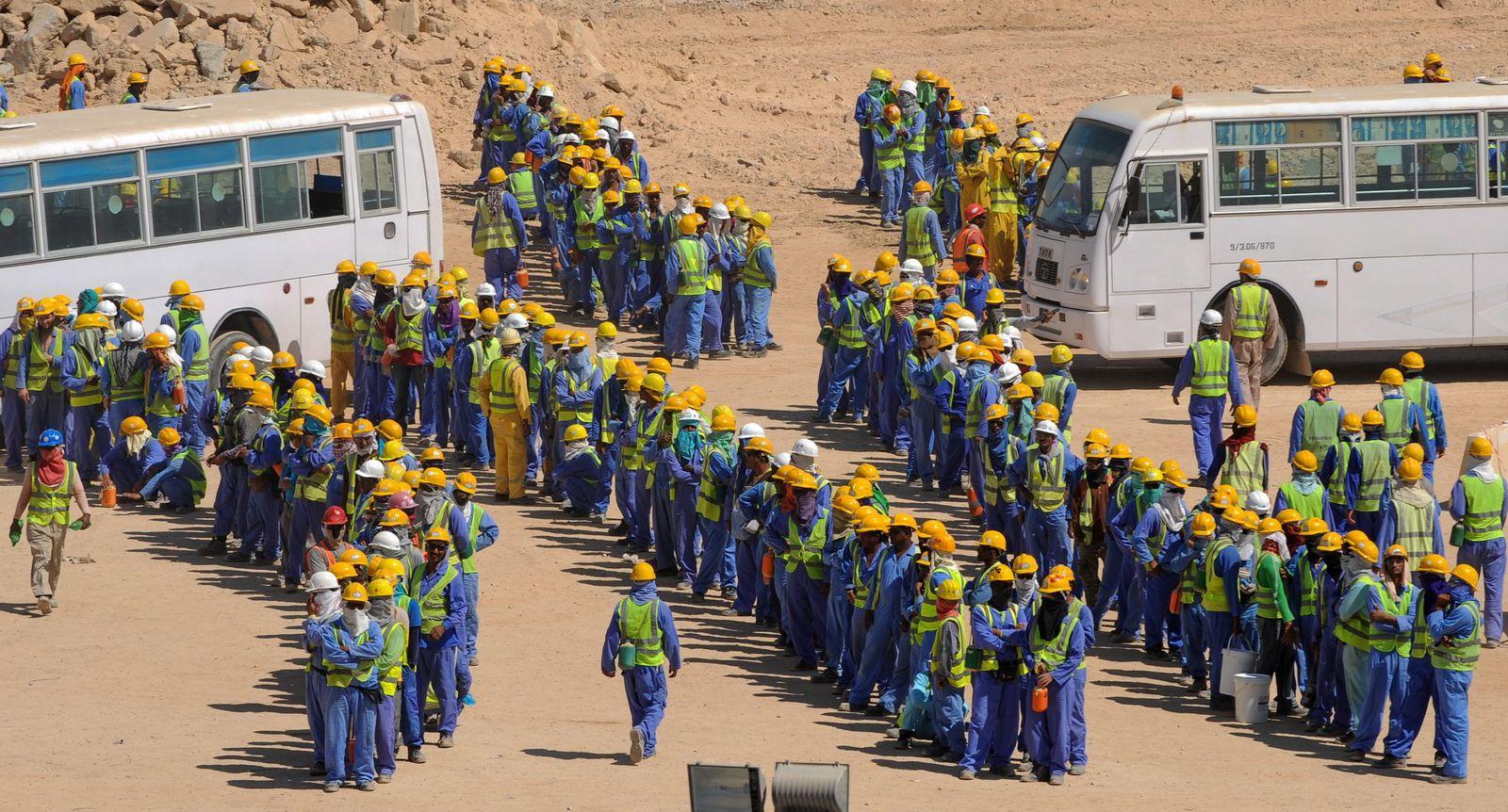 Katar / Baustelle