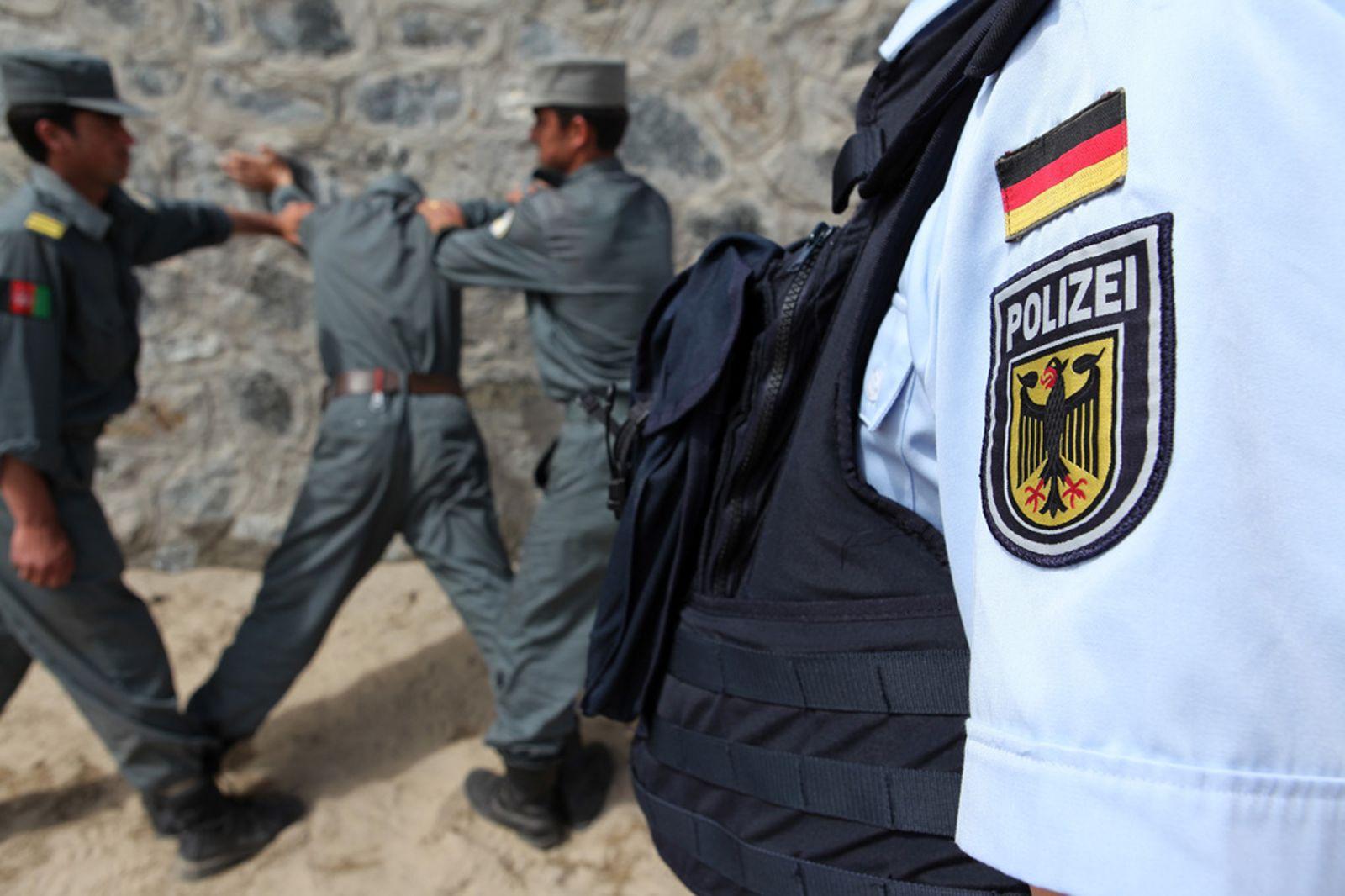 Deutsche Polizei Ausbildung Afghanistan