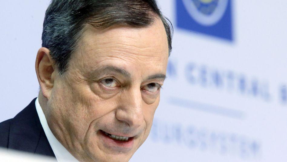 EZB-Präsident Mario Draghi: Mehr Spielraum für den Notfall