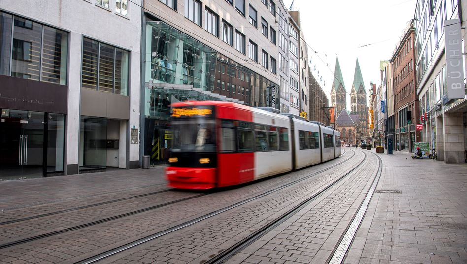 Straßenbahn in Bremen (Archivbild)