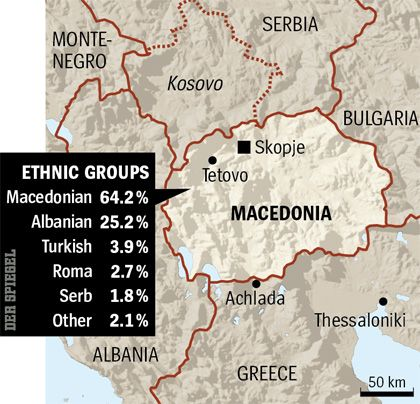 Graphic: Ethnic groups of Macedonia