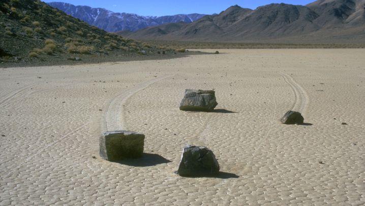 Nasa-Expedition: Das Rätsel der wandernden Felsbrocken