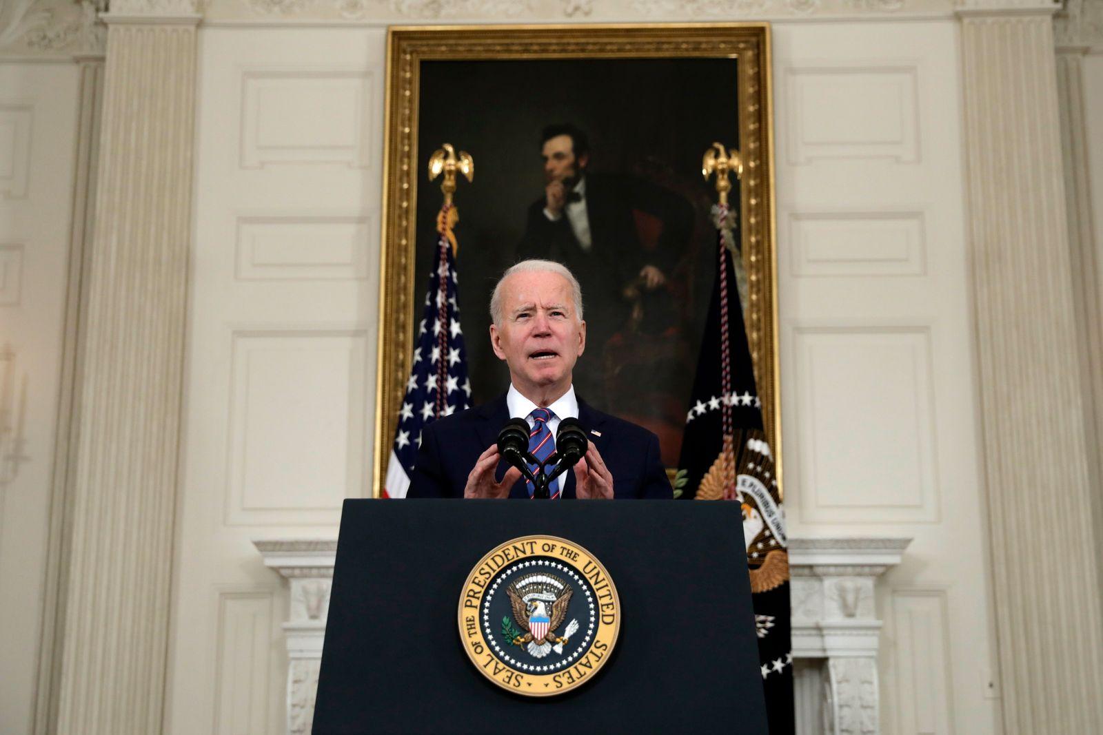 US President Biden remarks on jobs report