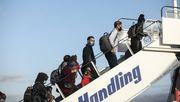 Weitere 104 Asylsuchende aus Griechenland in Deutschland angekommen