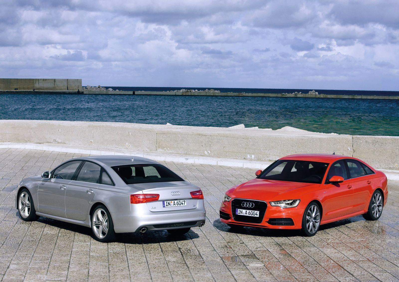 CO2 / Audi A6 C7