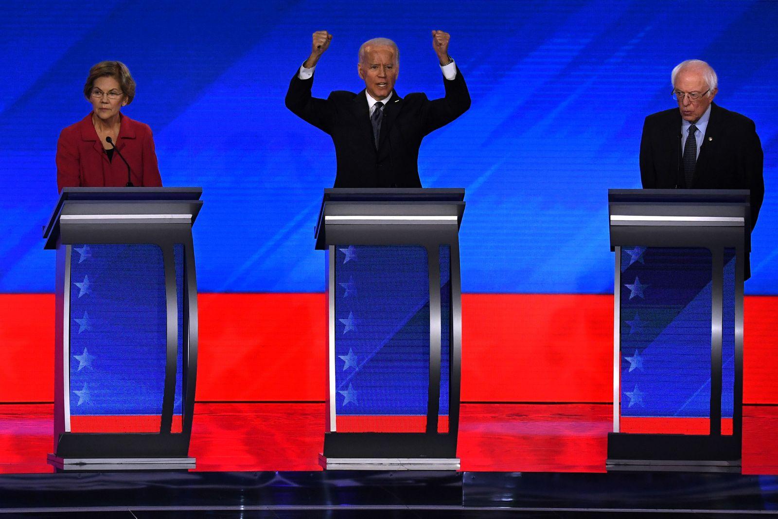 Eighth Democratic presidential primary debate