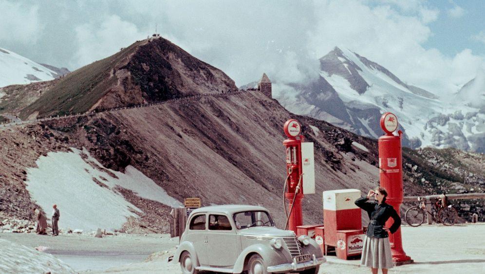 Bildband über Tankstellen: Tankstellen aus 130 Jahren
