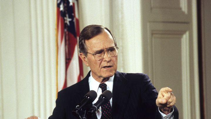 US-Präsident: George H.W. Bush - sein Leben in Bildern
