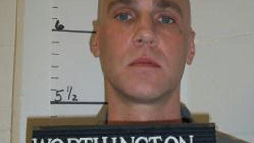 """Mörder Michael Worthington (im Februar): """"Ich glaube, dass ich morgen an einem besseren Ort aufwache"""""""