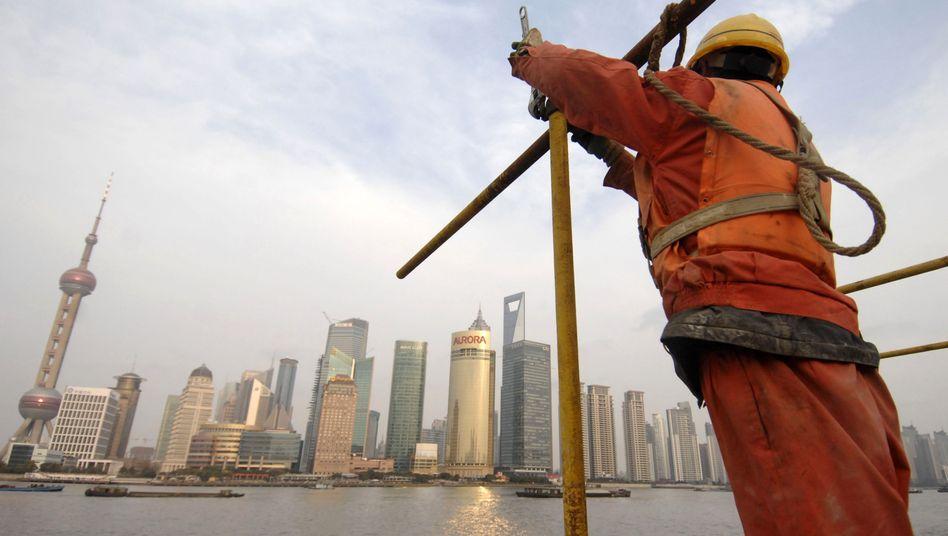 Bauarbeiten in Shanghai: Neues Wachstumsmodell gesucht