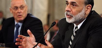 Minister Paulson, Fed-Chef Bernanke: Gespräche mit Fannie und Freddie