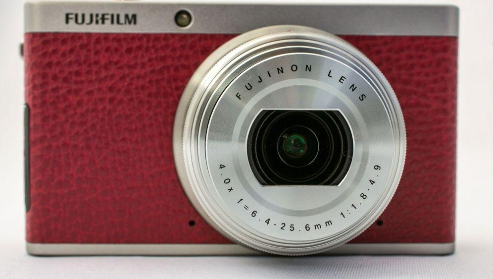 Fujifilm XF1: So fotografiert die kompakte Kunstleder-Kamera