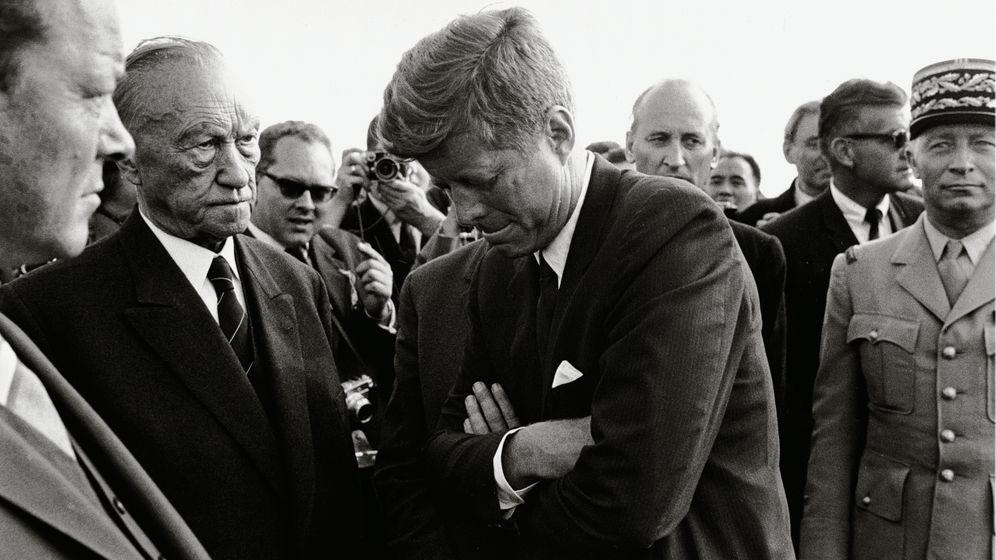 Kennedy in Berlin: Das Bild, das keiner sehen sollte