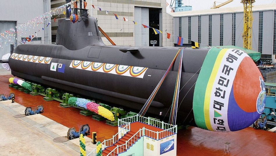 Südkoreanisches U-Boot: Ausbildung im Rotlichtviertel