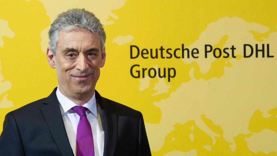 Post-Chef Frank Appel: Topverdiener unter den Dax-Vorständen