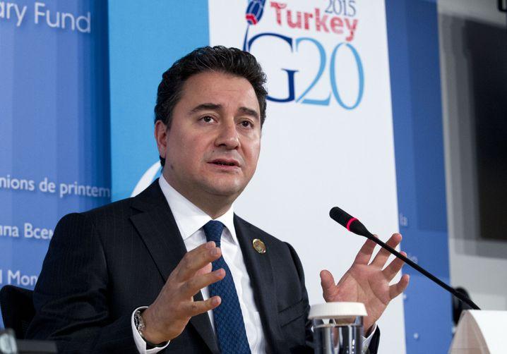 """Ali Babacan (Archivfoto): Türkei in einem """"dunklen Tunnel"""""""