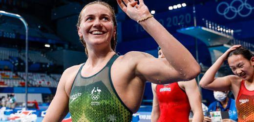 Olympia 2021 Schwimmen: Ariarne Titmus beendet eine Ära, ihr Trainer spielt verrückt