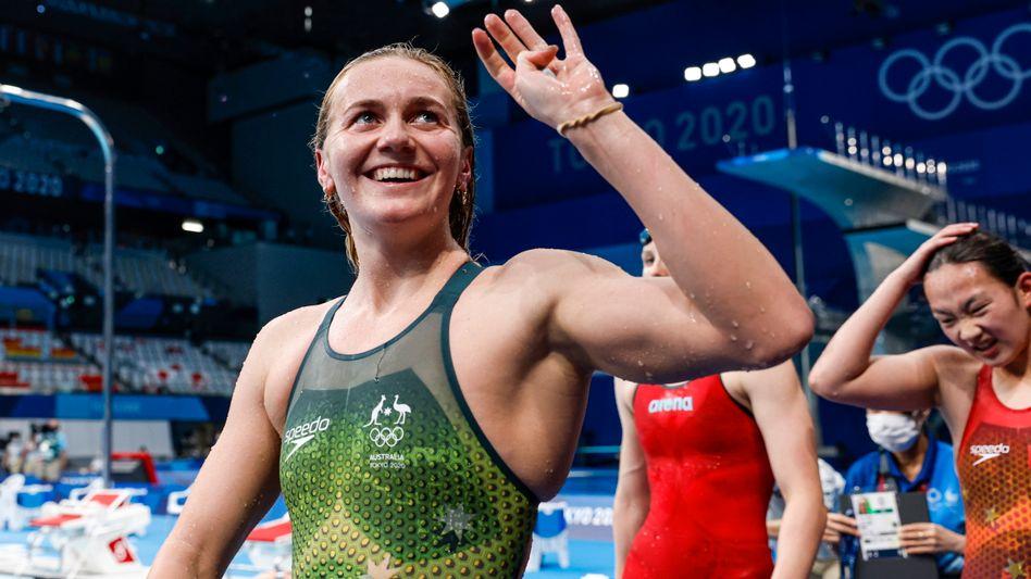 400-Meter-Freistil-Olympiasiegerin Ariarne Titmus: »Es ist surreal«