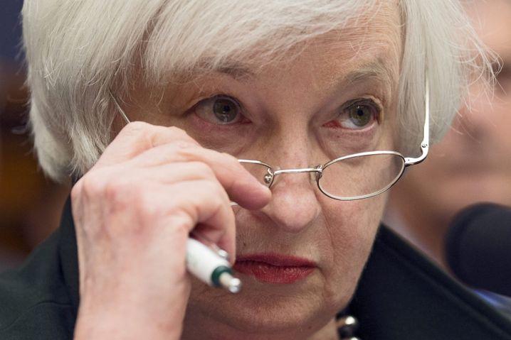 Fed-Chefin Yellen: Risiken und Nebenwirkungen