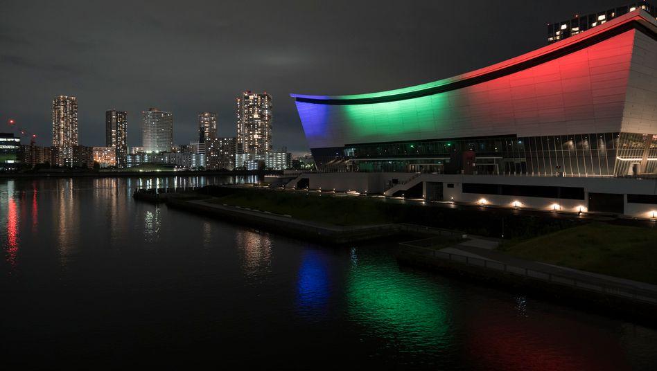 Die Ariake Arena von Tokio