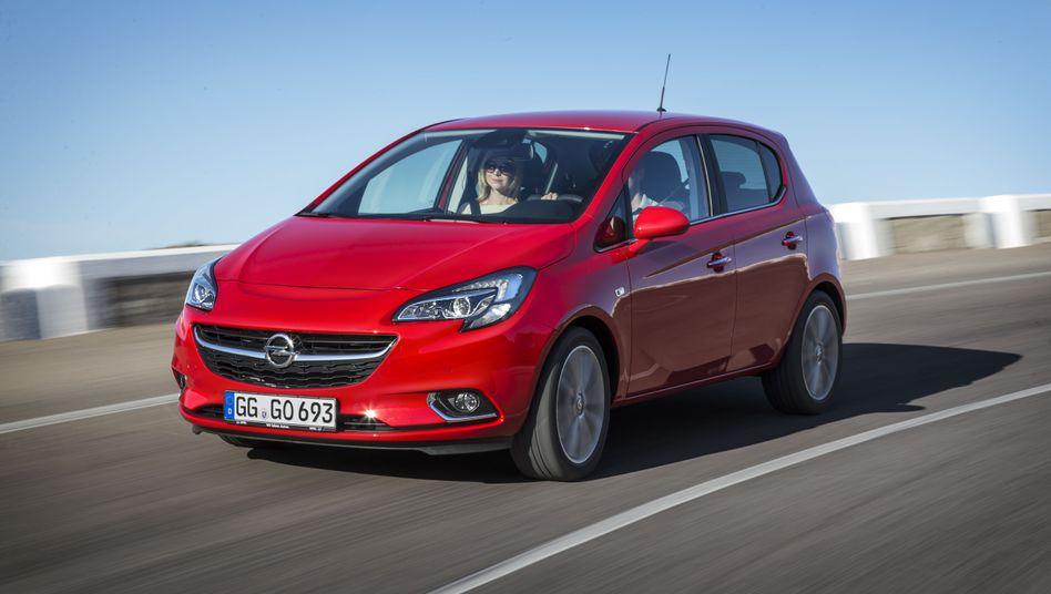 Aktuelles Modell des Opel Corsa