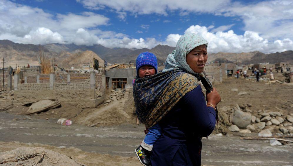 Trekking-Paradies in Ladakh: Von Wassermassen eingeschlossen