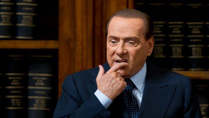 Italiens Ex-Premier: Vier Jahre Haft für Berlusconi