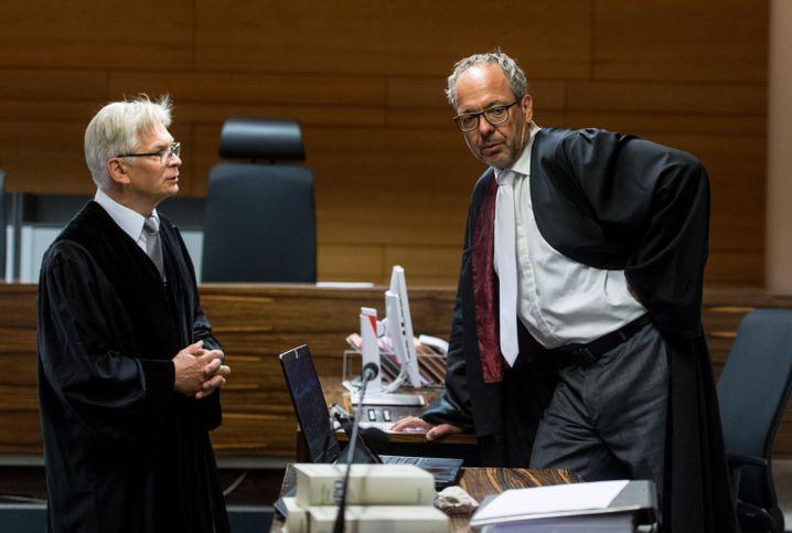 Staatsanwalt Eckart Berger, Verteidiger Sebastian Glathe