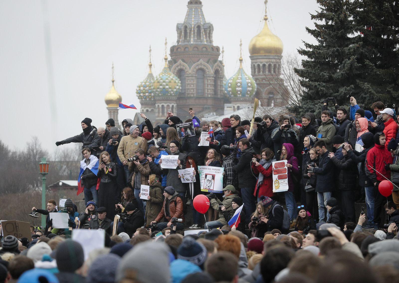 Russland / Moskau / Protest / Jugend