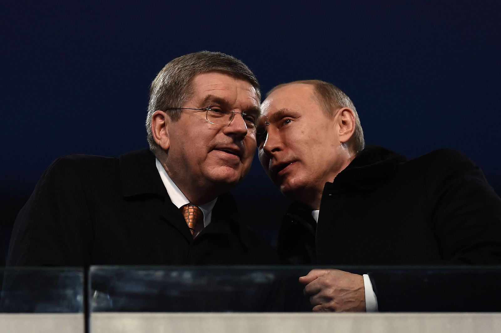 Putin / Bach / Sotschi