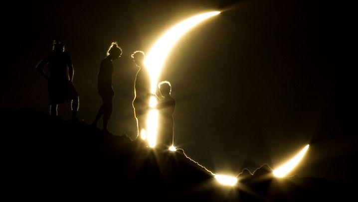 Sonnenfinsternis: Feuerring über Asien