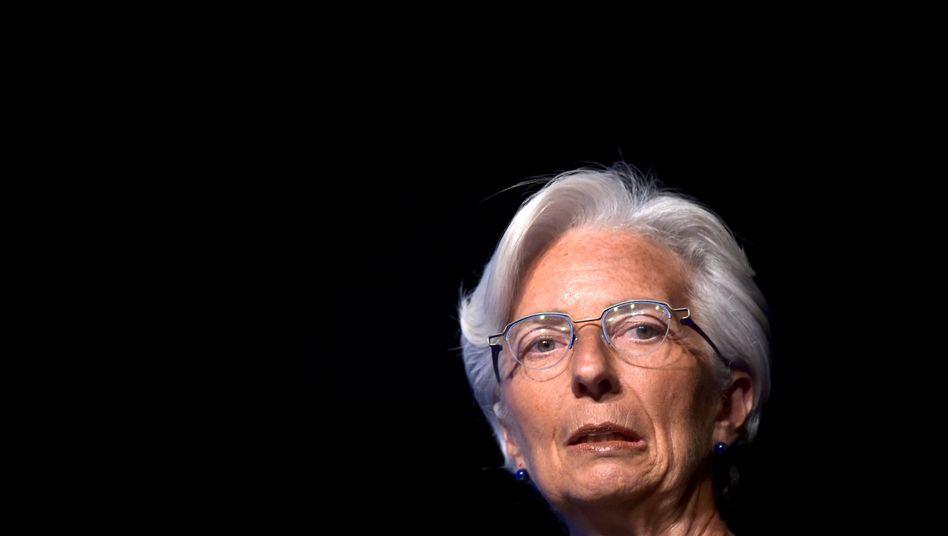 """IWF-Chefin Lagarde: """"Dienstmagd von Berlin und Brüssel"""""""