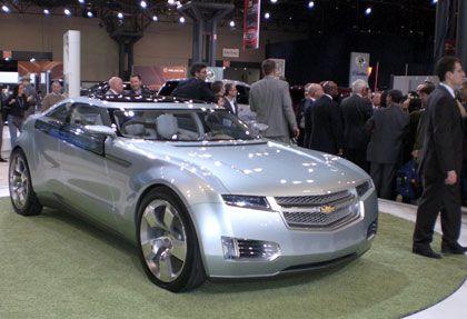 Der Chevrolet Volt soll ab 2010 zu kaufen sein.