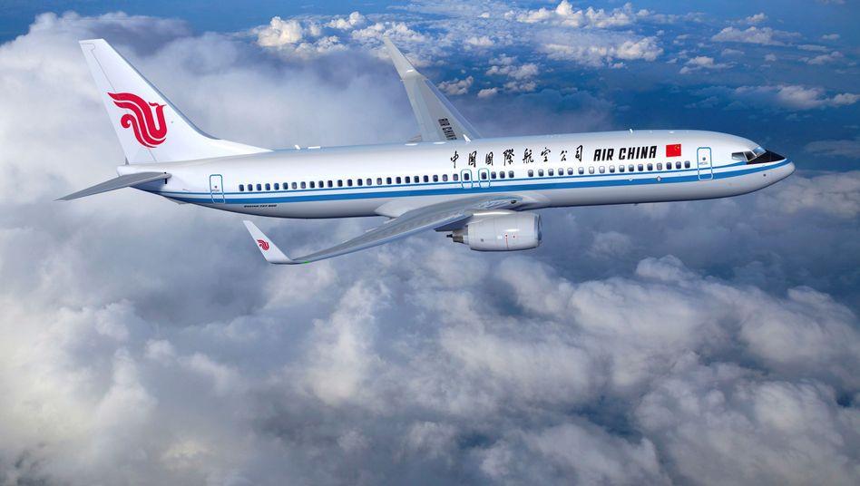 Air China Maschine (Archivfoto)