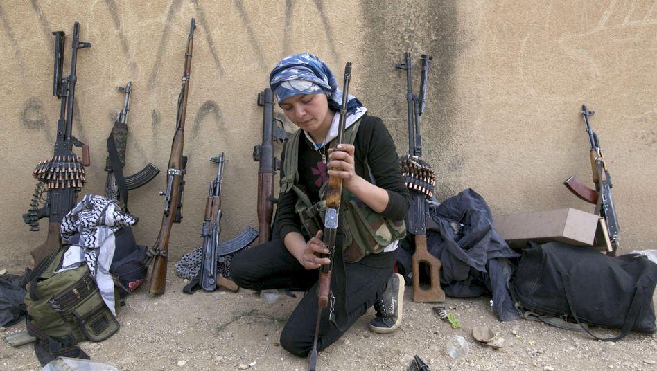 Kurdin bei den Volksverteidigungseinheiten (YPG): Schlagkräftig gegen die Dschihadisten
