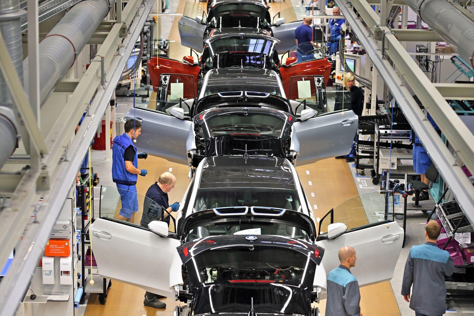 BMW startet Produktion i3