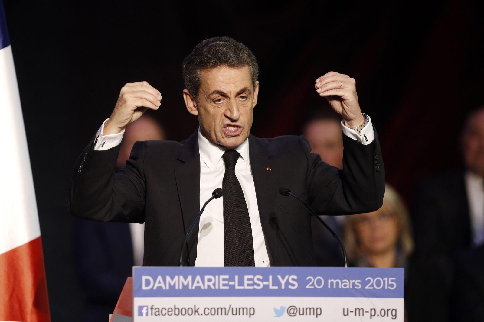 Nicolas Sarkozy, Frankfreich, UMP