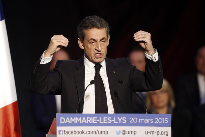 """Nikolas Sarkozy: """"Die Wende ist nicht mehr aufzuhalten"""""""