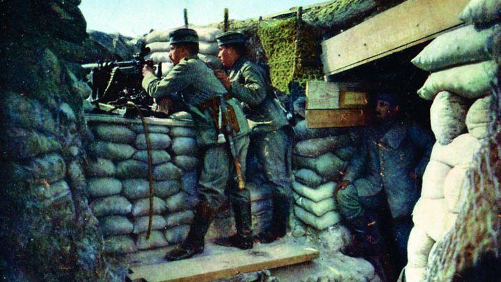 Frühe Farbfotografie: Das Zerstörungspotential des Krieges