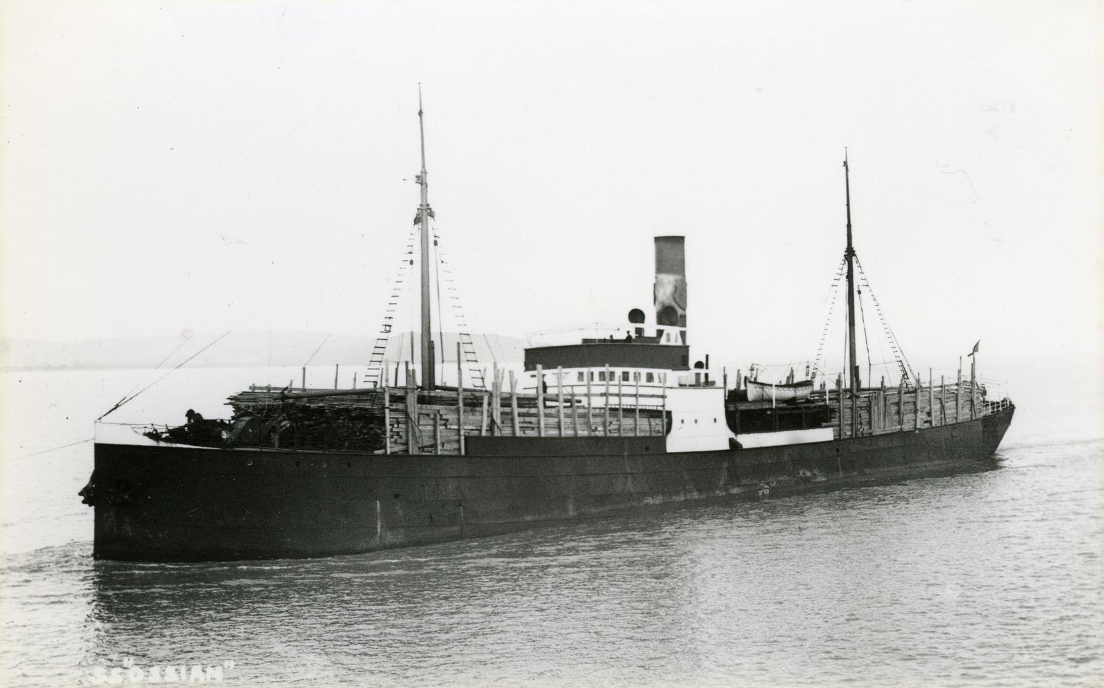 Dampfer Ossian