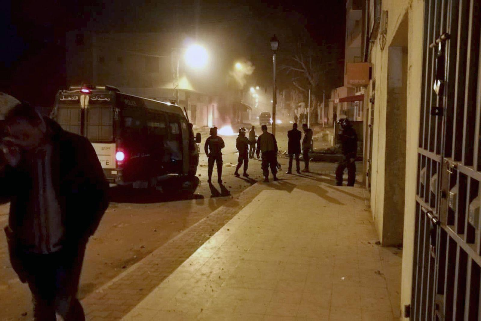 Tunesien/ Proteste/ Kasserine